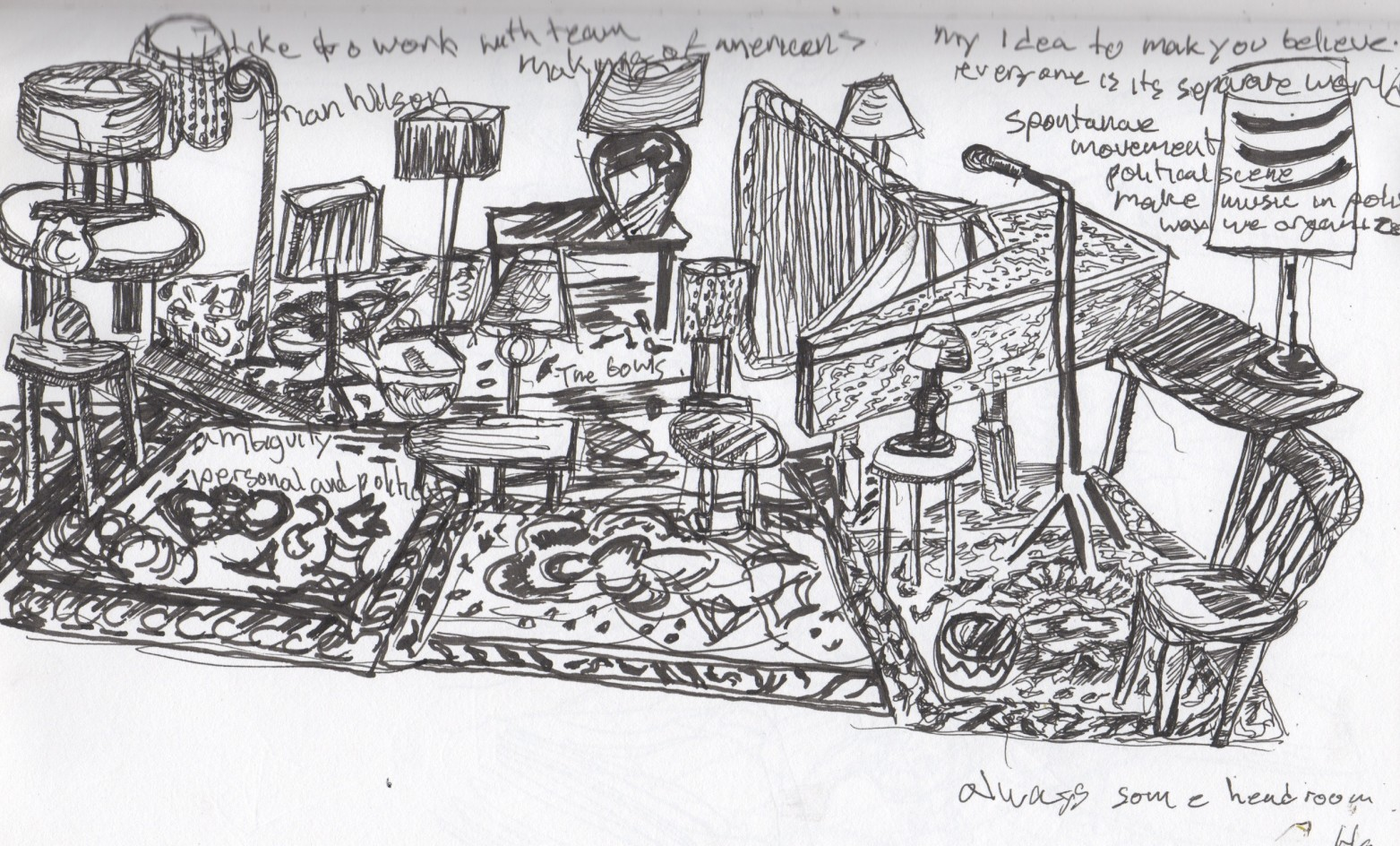 Fringe in Sketch: SONGS OF WARS I HAVE SEEN (Heiner Goebbels)   phindie