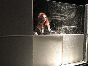 Jenna Kuerzi in a recent play by John Rosenberg.