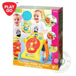 Playgo Tiny Step Walker W/ Shape Sorter Activities