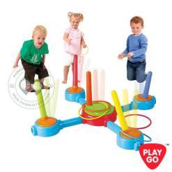 2447 Playgo Musical Ring Toss Game เกมส์ปาห่วงเสียงดนตรี