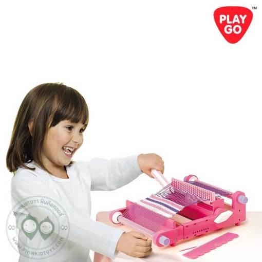 7705-Playgo-My-Loom-ชุดเครื่องทอผ้าเหลี่ยม-1