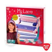 7705-Playgo-My-Loom-ชุดเครื่องทอผ้าเหลี่ยม-3
