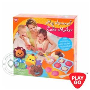 6345 Playgo My Animal Cake Maker เครื่องพร้อมถาดเค้กรูปหน้าสัตว์น้อย
