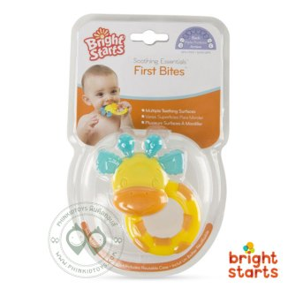 First Bites Stage Teethers - Giraffe