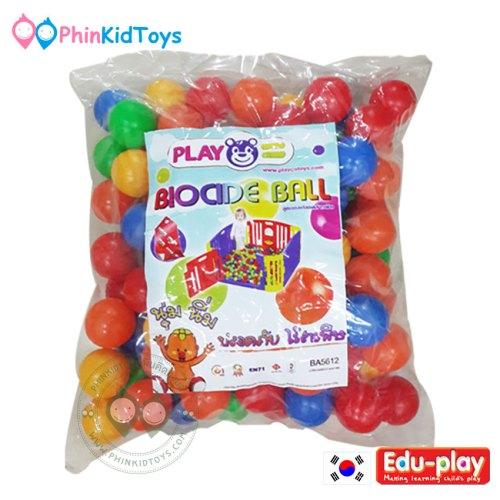 Biocide Balls บอลไร้สาร Eduplay 58 mm 100 ลูก
