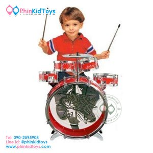 กลองชุด-5-ชิ้น-สำหรับเด็ก-Big-Band