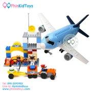 บล็อคตัวต่อเลโก้เซ็ทเครื่องบิน-1