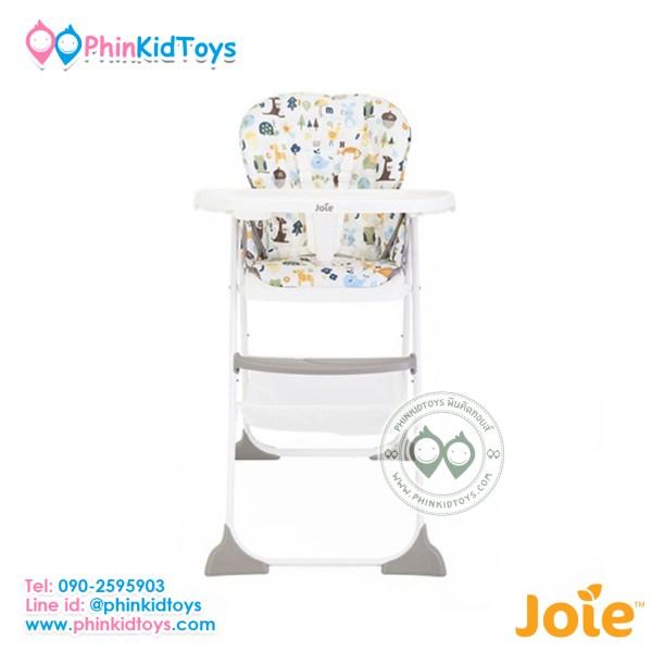 เก้าอี้เด็กทรงสูงสำหรับทานข้าวจากอังกฤษ ยี่ห้อ Joie รุ่น High Chair Mimzy Sancker Alphabet