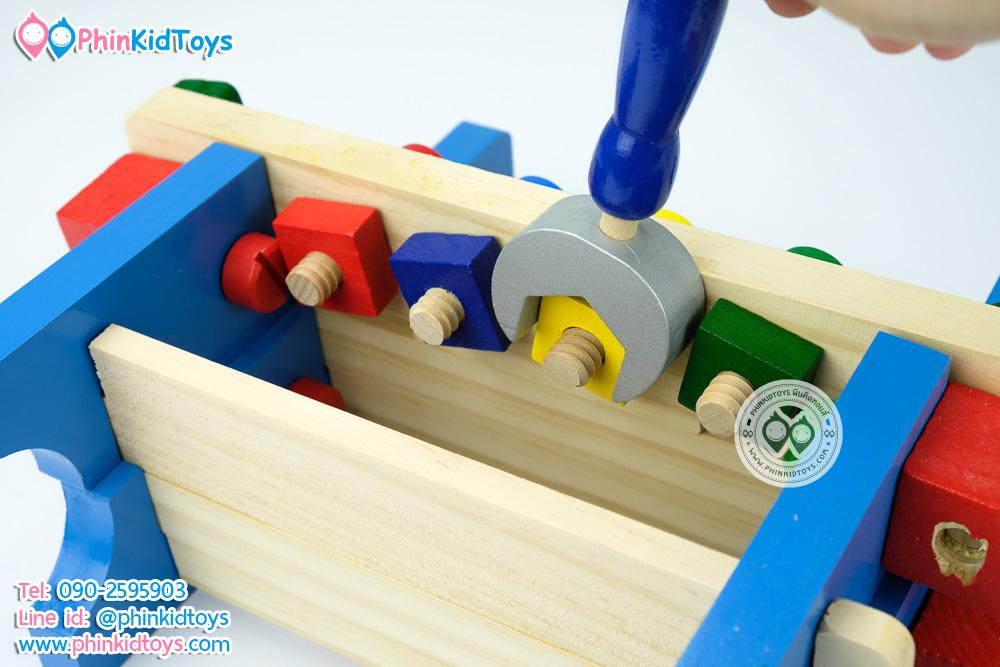 ชุดโต๊ะกิจกรรมเครื่องมือช่างไม้