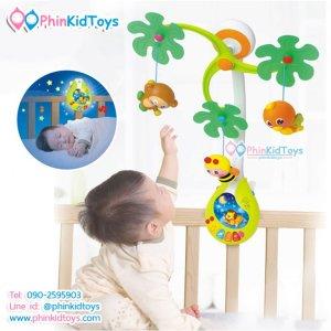 โมบายเสริมพัฒนาการเด็กลายสัตว์น้อย Huile Toys Infant Developmental Mobile