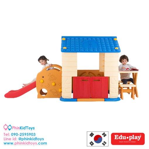 บ้านสไลด์พร้อมโต๊ะเก้าอี้ Eduplay PH-TBSL48-3