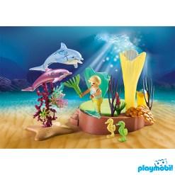 Playmobil 70094 Mermaid Cove with Illuminated Dome เมอร์เมด ถ้ำเมอร์เมด และโดมปะการัง