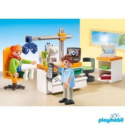 Playmobil 70197 Hospital Eye Doctor Figure เพลย์โมบิล โรงพยาบาล ห้องวัดสายตา จักษุแพทย์