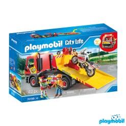 Playmobil 70199 Vehicles Towing Service Figure เพลย์โมบิล ยานพาหนะ บริการรถลาก