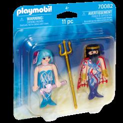 Playmobil 70082 Duo Pack Sea King and Mermaid Figure เพลย์โมบิล ดุโอ้ จ้าวสมุทร และเมอร์เมด