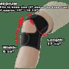 Phiten Titanium Knee Wrap Medium