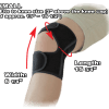 Phiten Titanium Knee Wrap Small