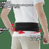 Phiten Lightweight Titanium Waist Belt Large