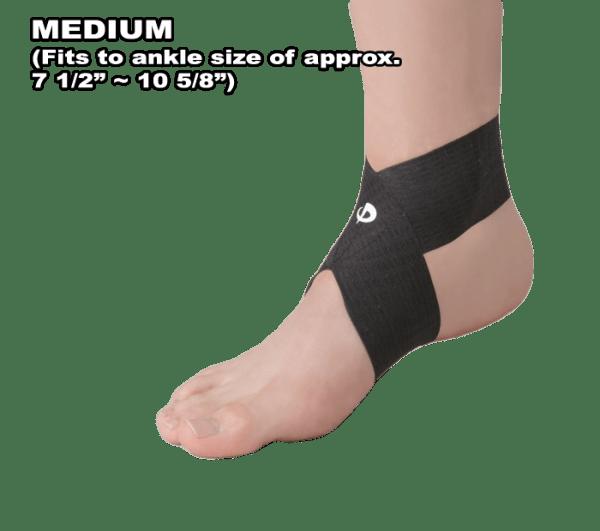 Phiten Titanium Ankle Wrap Medium