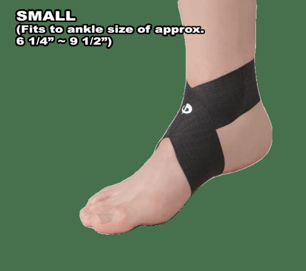 Phiten Titanium Ankle Wrap Small