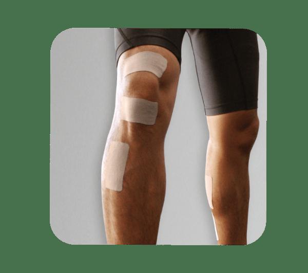 X30 Phiten Titanium Power Tape Precut Knee