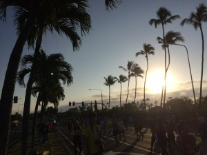 Honolulu Marathon Road