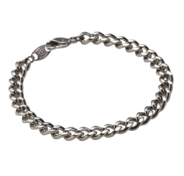 Pure Titanium Chain Bracelet is a light and durable bracelet