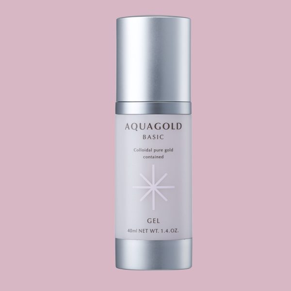 Phiten Aqua Gold Gel 40ml to revitalize the damaged skin due to everyday environmental stress, such as blue light and air pollution