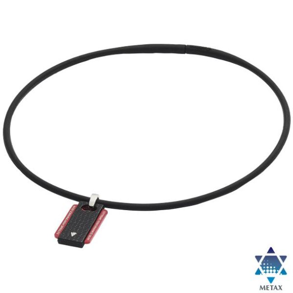 Extreme Necklace Square is teh stylish Phiten Neckalce with Metax Technology