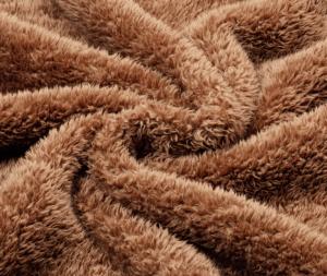 fluffy material blanket