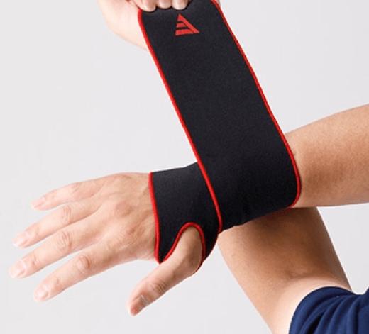 how to wear the wrist wrap