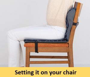 Phiten Chair Cushion