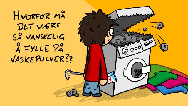 Vaskepulver