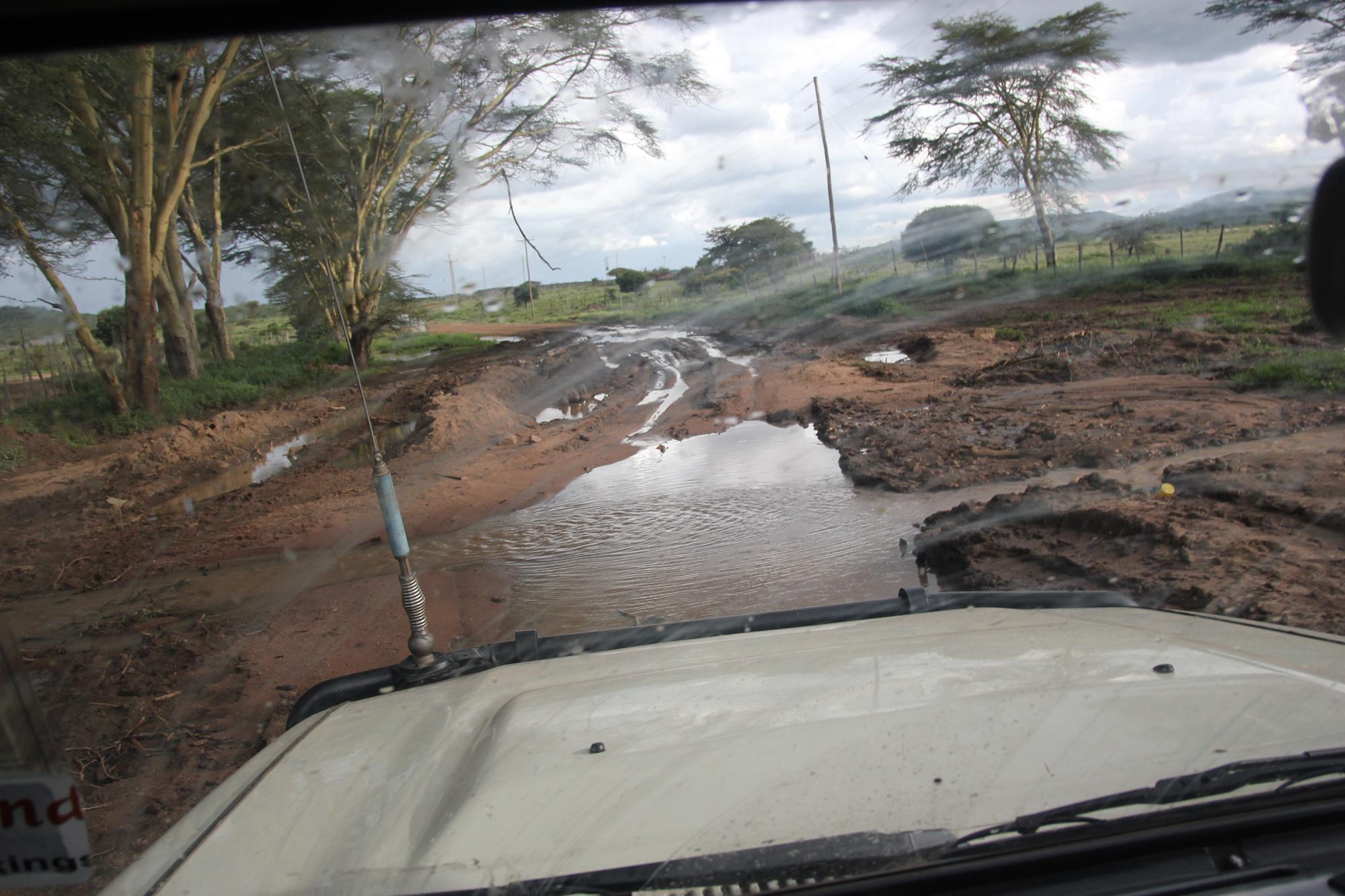 Kenya: Traktorvei og stroganoff