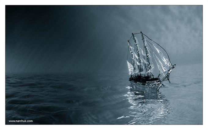 Dream-boat by Andrey Narchuk