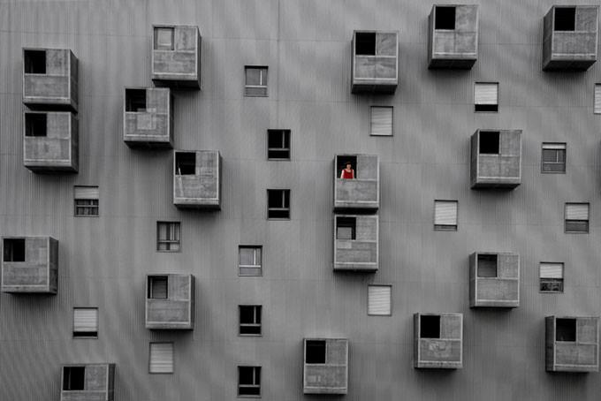 Rear Window by Alfon No