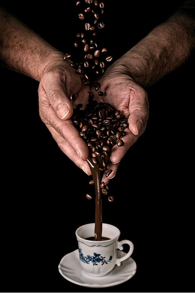 Making the Coffee by Laszlo Gal