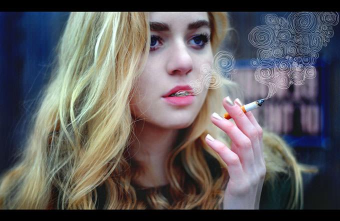 She's a confident liar by Rachel Baran