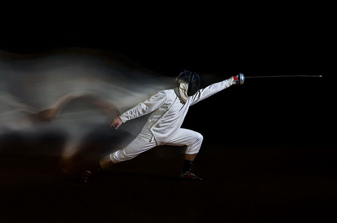 The Fencer by Hugo Borges