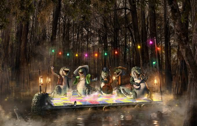 Life in the Bayou by Souverein