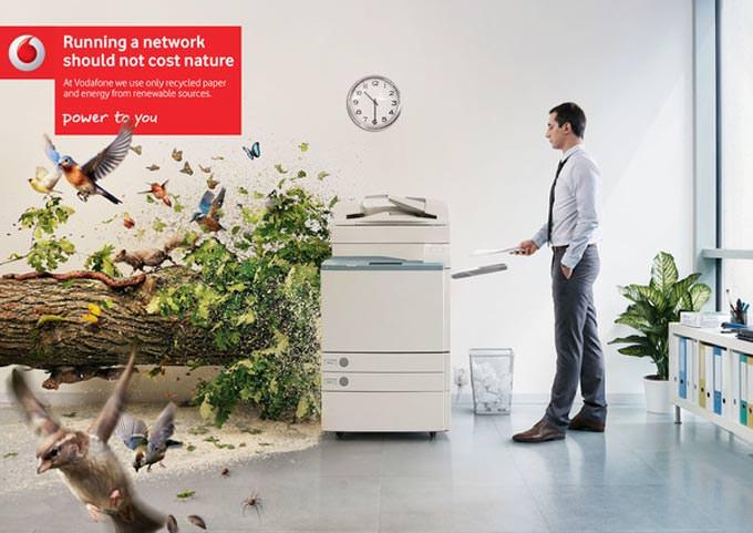 Vodafone Printer by Atila Martins