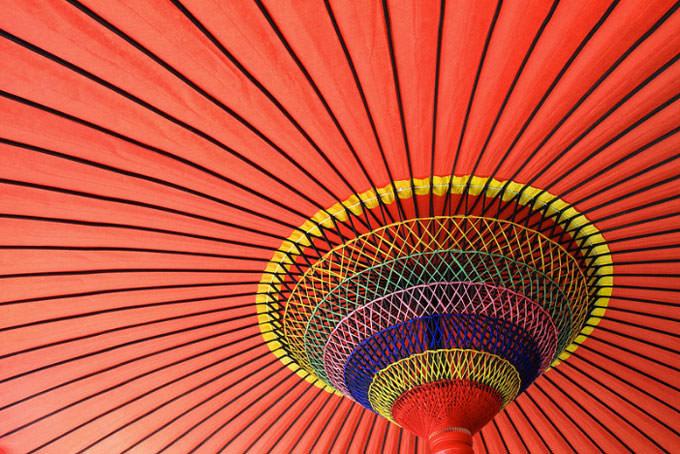 Wasaga (Ombrelle Traditionnelle Japonaise) - Kyoto - Japon by Michaël DUCLOUX