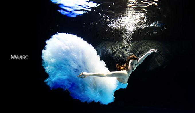 Underwater Ballerina by Rafal Makiela