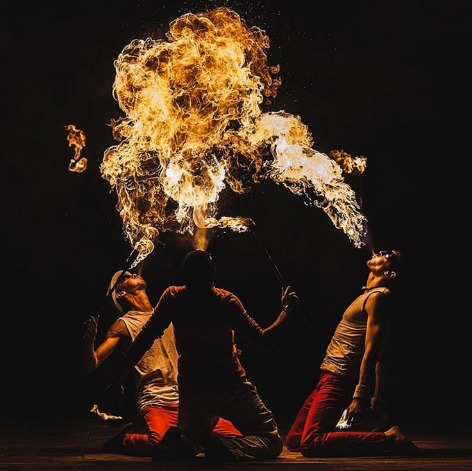 Fire by Stanislav Makhalov
