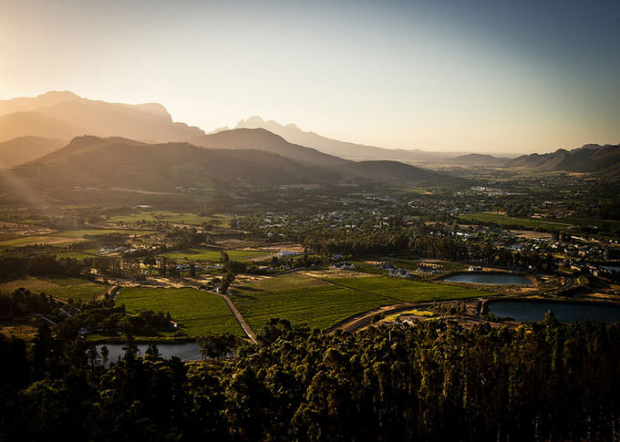 Franschhoek, South Africa (2012) by jekoormann