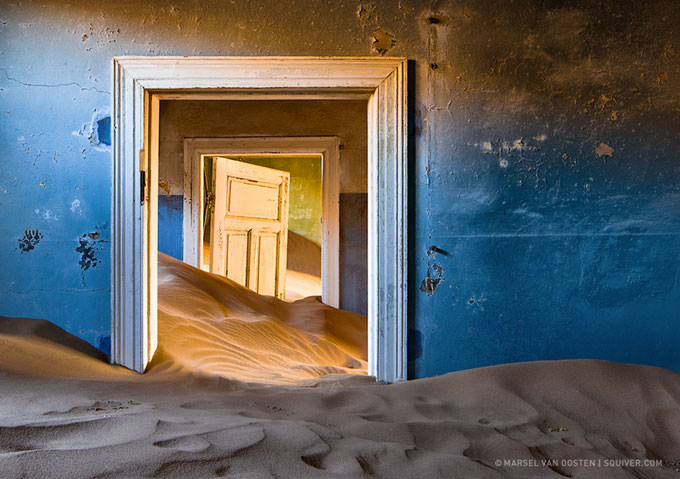 Invasion of the Dunes by Marsel van Oosten