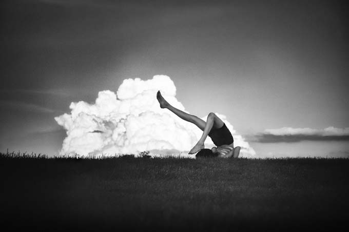Touch the Clouds with your toes by Tatiana Avdjiev