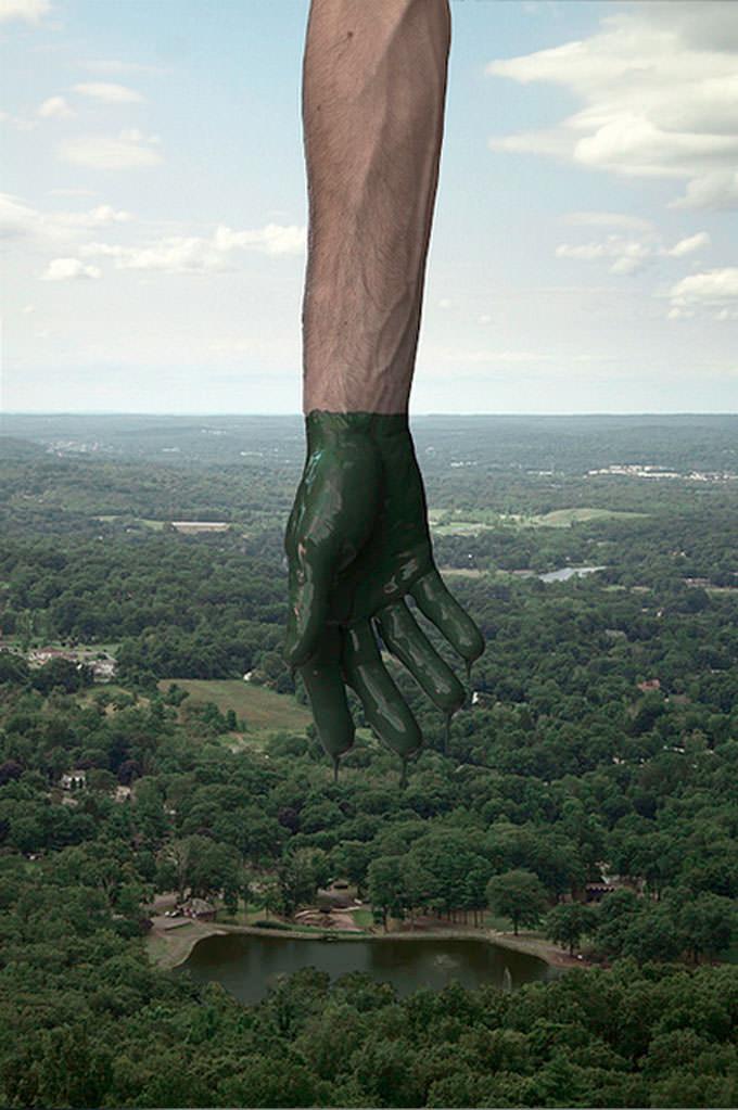Transfer - Green by Kevin Corrado