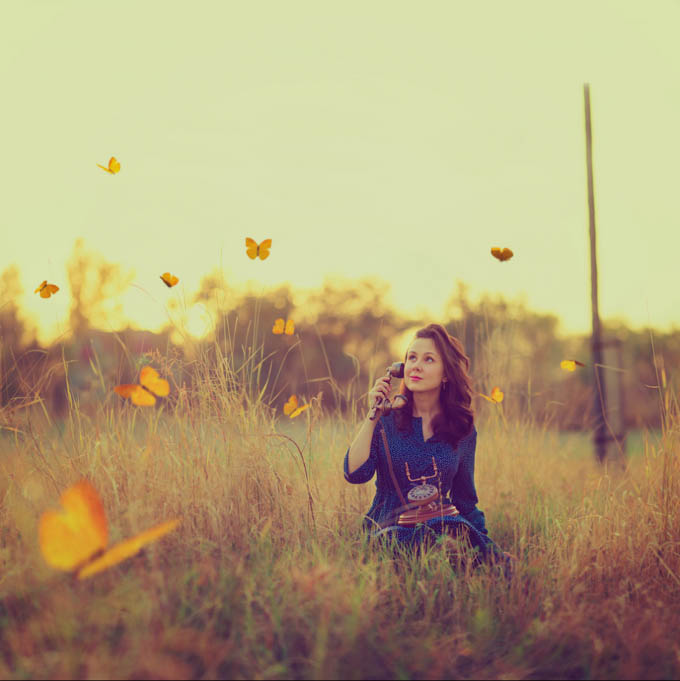 Butterflies Around Me by Marika