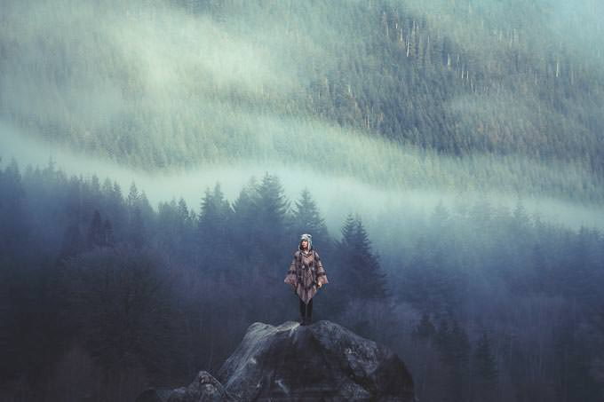 The Misty Mountains Cold by Lizzy Gadd